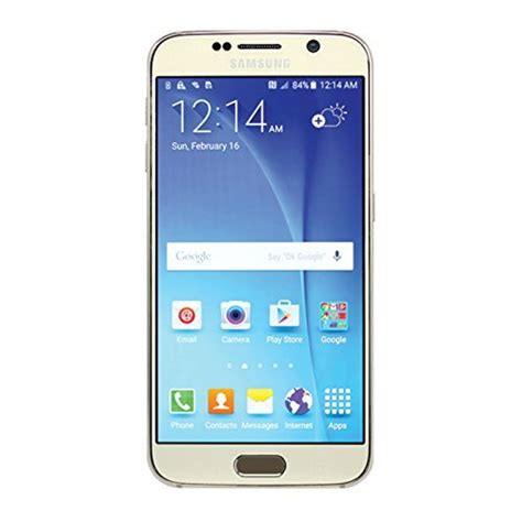Sale Samsung Galaxy S6 32 Gb Gold Mulus samsung galaxy s6 sm g920v 32gb gold smartphone for verizon certified refurbished