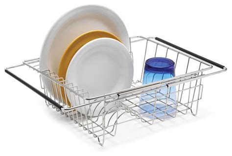 Expandable Dish Rack by Expandable In Sink Dish Rack Dish