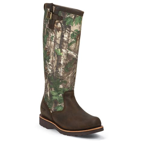 chippewa apache leather and realtree camo 17 inch