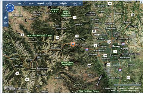 Find In Colorado Find Us Cottonwood Rv Cground In Idaho Springs Colorado Clear Creek County