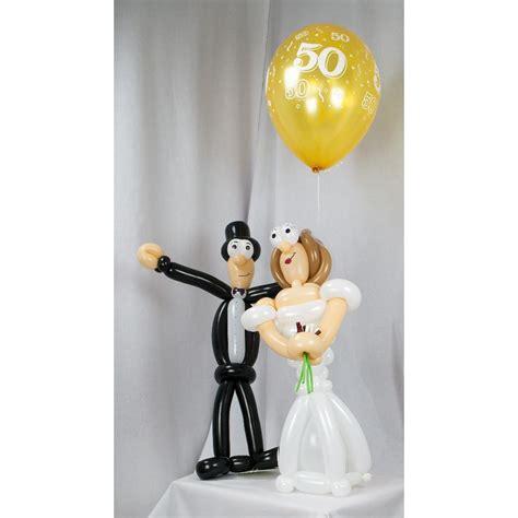 Hochzeit Luftballons by Brautpaar Zur Goldenen Hochzeit Aus Luftballons 60 Cm