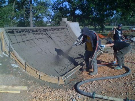 building a halfpipe in your backyard patterson park cement mini r project building a mini