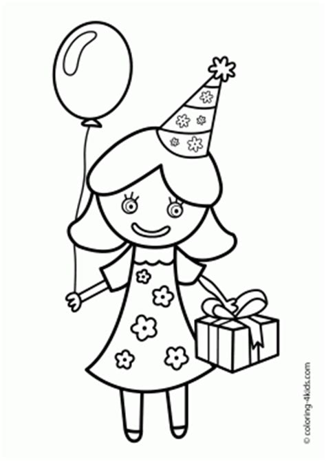 party coloring page the perfect coloring page for a