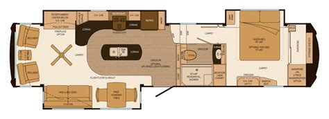 luxury rv floor plans 1st interior floor plan of new luxury lifestyle rv