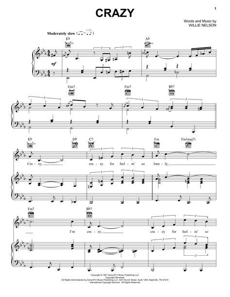 Crazy Patsy Cline Guitar Chords