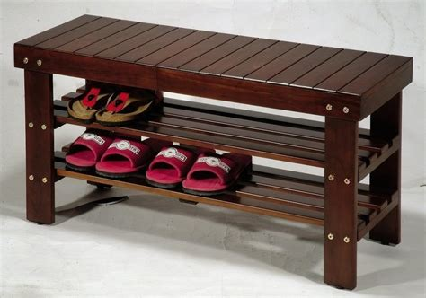 outdoor bench with shoe storage solutions on small shoe organizers for small spaces