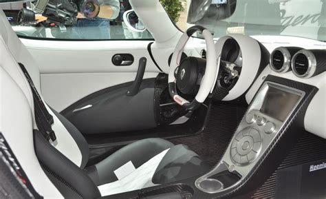 koenigsegg ccxr trevita supercar interior car and driver