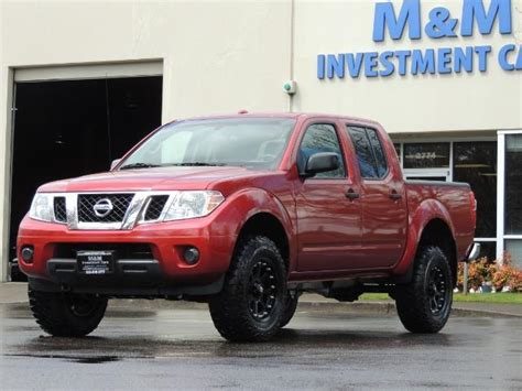 2016 Nissan Frontier Sv 4x4 Crew Cab 6cyl Lifted