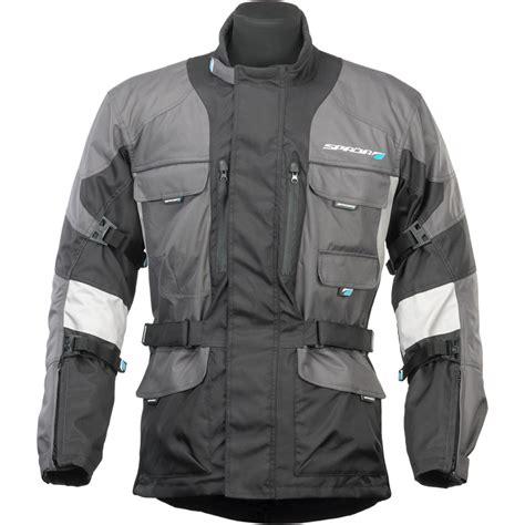 motorcycle touring jacket spada dakar polyester waterproof motorcycle touring