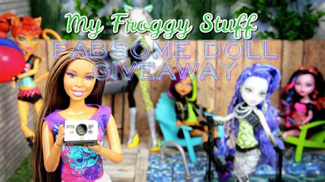 Kids Bedroom Accessories my froggy stuff fabsome summer doll giveaway youtube