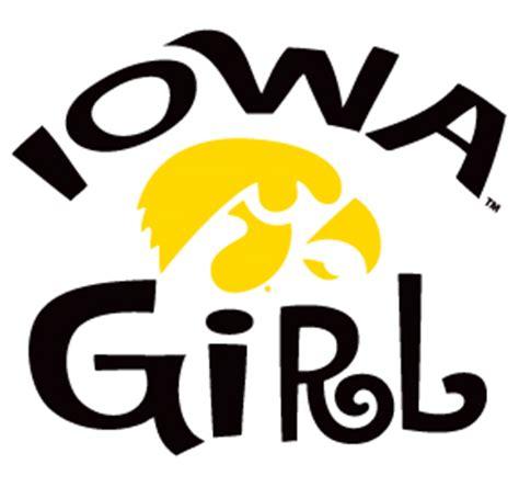 details about iowa hawkeyes iowa girl clear vinyl decal