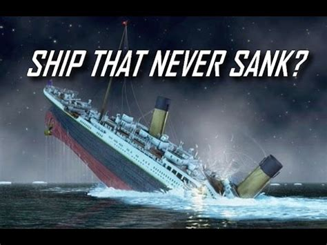 titanic the ship that never sank youtube - How Titanic Boat Sank