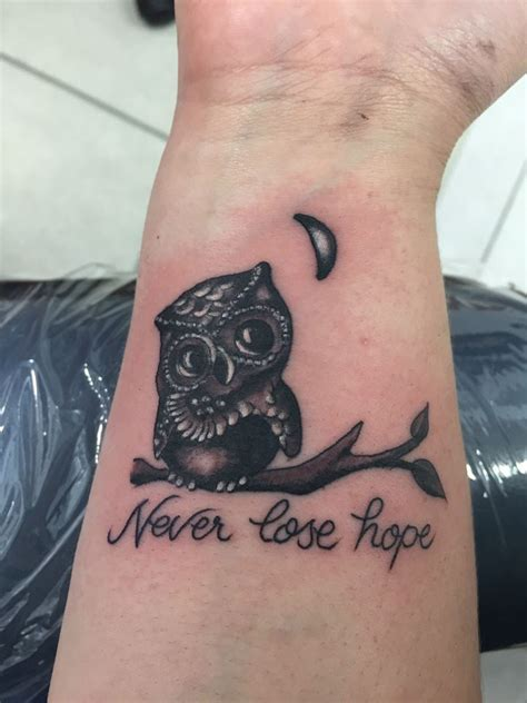 owl tattoo with quote 50 inspirational owl tattoo ideas that are unique