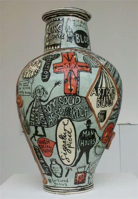 Grayson Perry Vases by Grayson Perry Pottery