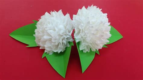 Make The Paper Flower - how to make tissue paper flowers tissue paper