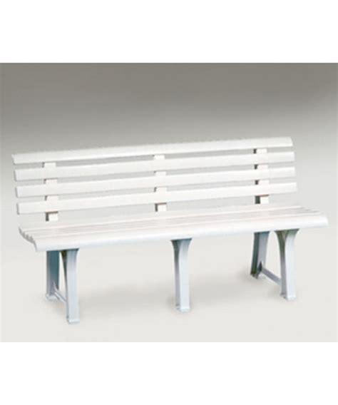 panchina plastica panca panchina sedile da giardino esterno terrazzo
