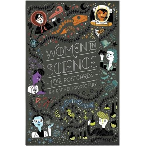 women in science 100 postcards present indicative