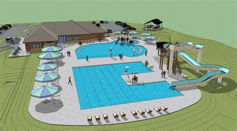 community pool design concept designs burlington communnity pool