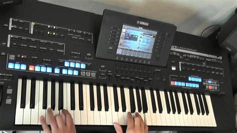 Keyboard Yamaha Tyros 4 ballade pour adeline mike morbusch am yamaha keyboard tyros 4 black