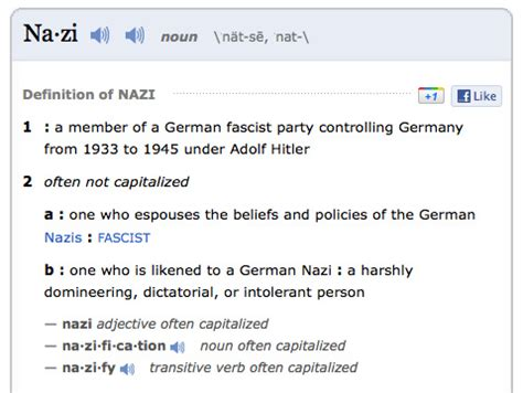 nazi definition | bbcamerata | flickr