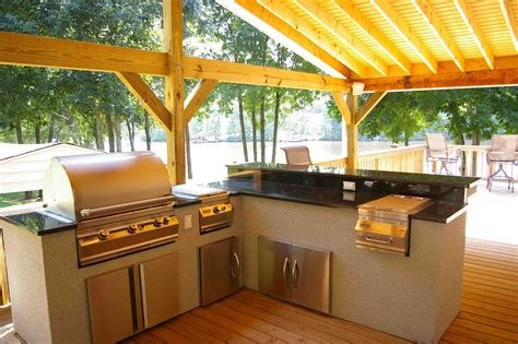 covered outdoor kitchen outdoor kitchens is among the preferred house decoration