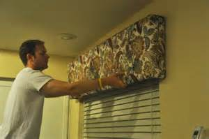 How To Make Cornice Boards Valances Diy Box Valances Her View From Home