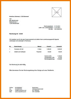 Muster Rechnung Schweiz rechnung dienstleistung schweiz transition plan templates