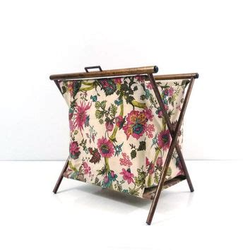folding knitting caddy folding sewing caddy tote knitting bag from reconstitutions