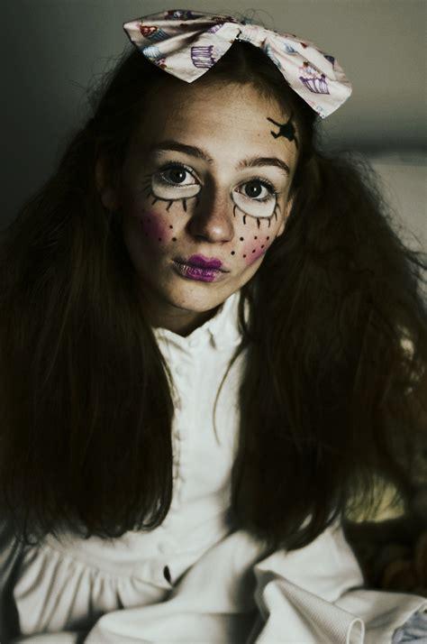 hair and makeup doll creepy doll make up hair inspiration