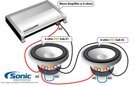 dvc 4 ohm wiring diagram get free image about wiring diagram