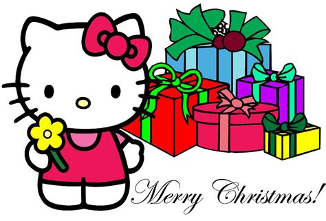 kitty christmas backgrounds wallpaper cave