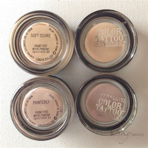 maybelline color tattoo just beige dupe alert maybelline color tattoos in just beige and