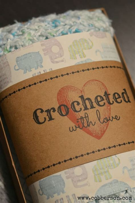 Labels For Handmade Crochet Items - 45 best images about crochet and knitting help on