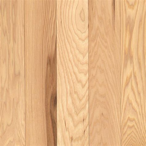 mohawk hickory solid country natural 3 4 in thick x 2 1 4 in wide x 84 in length solid