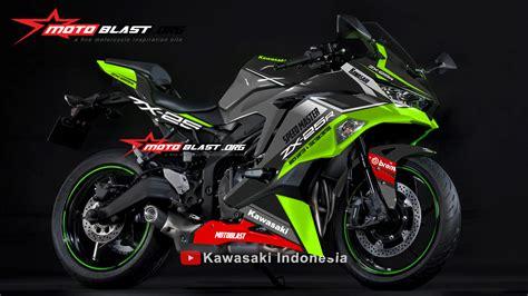 kawasaki ninja zxr black greenlime motoblast