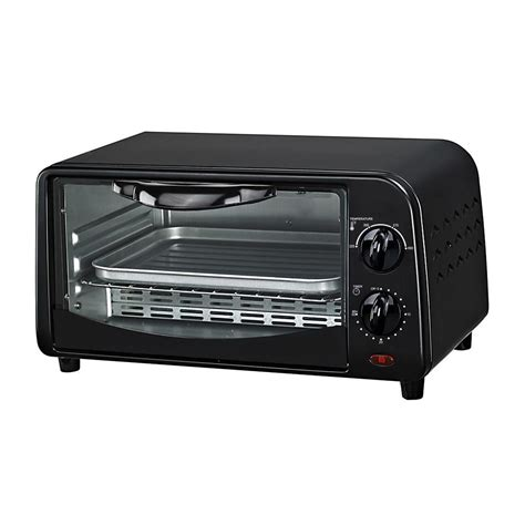 impecca courant 4 slice counter top toaster oven broiler
