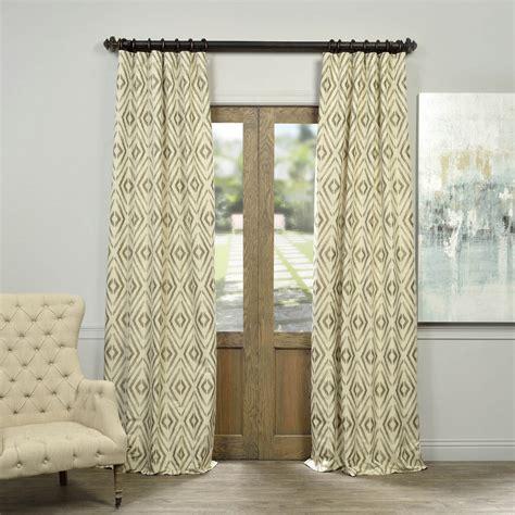 taupe silk curtains maui taupe faux silk jacquard curtain and drapes