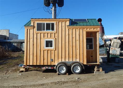 8x16 cross gable tiny house on a trailer 1000 images about home on wheels on pinterest tiny house