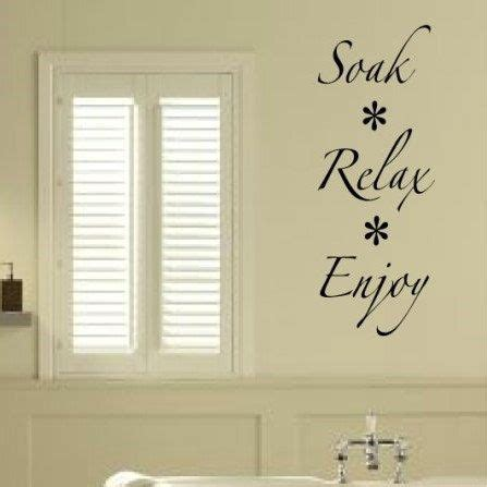 Wall Sticker Bathroom Soak Relax Enjoy Quotes Vinyl Decor 10 best wall vinyl for rooms images on kid rooms vinyl wall quotes and wall vinyl