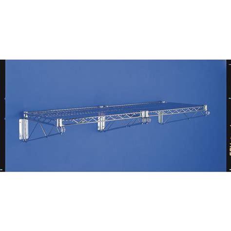 wire shelving brackets 2wd18c wall bracket 18 quot finish chrome wall