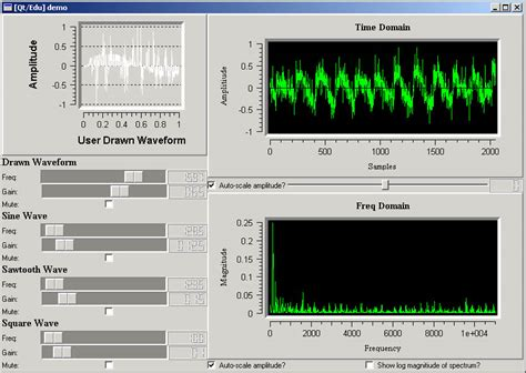 qt tutorial c gui graphical audio programming environment