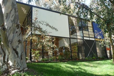 case study houses eames house and studio case study house 8 los angeles conservancy