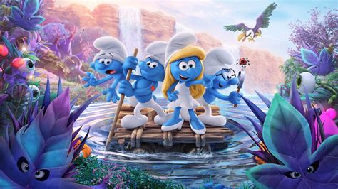 smurfs the lost smurfs the lost 2017 backdrops the