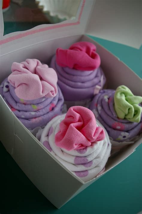 Baby Shower Onesie Cupcakes by Accomplishment 1 Baby Shower Cupcakes
