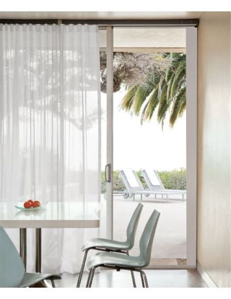 sliding track curtains 17 best ideas about sliding door coverings on pinterest