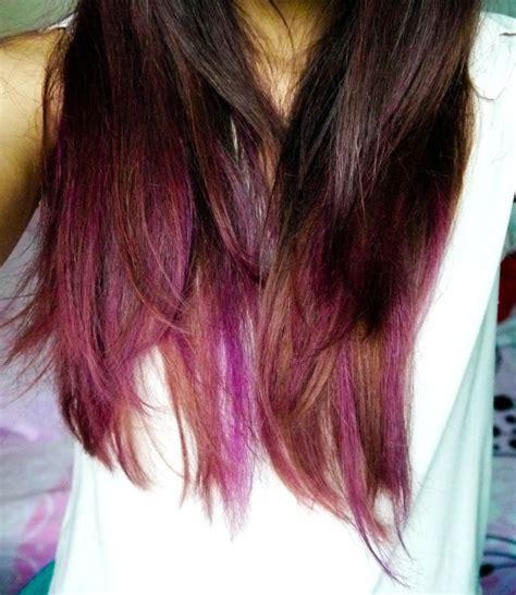 is streaking still popular on hair 1000 ideas about purple streaks on pinterest purple