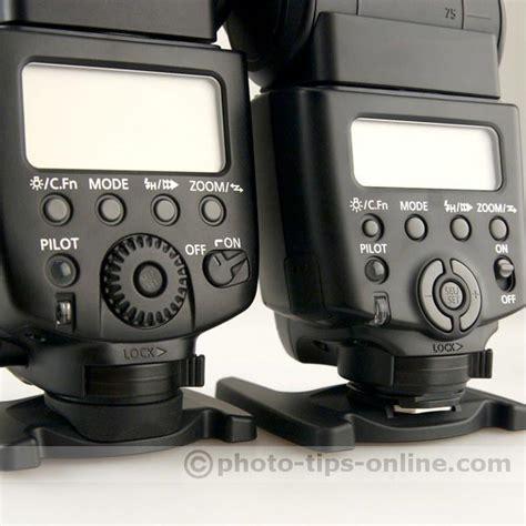 Flash Canon 430 Ex Ii Limited canon speedlite 430ex ii vs canon speedlite 580ex ii controls up photo tips