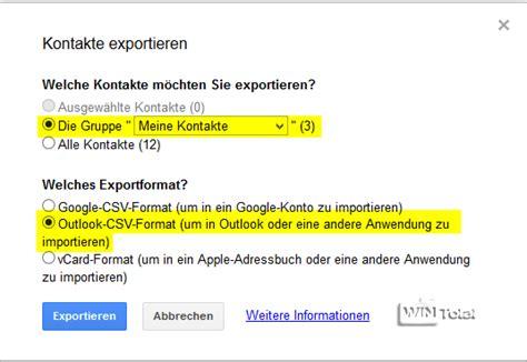 format csv outlook kontakte von google mail in microsoft outlook importieren
