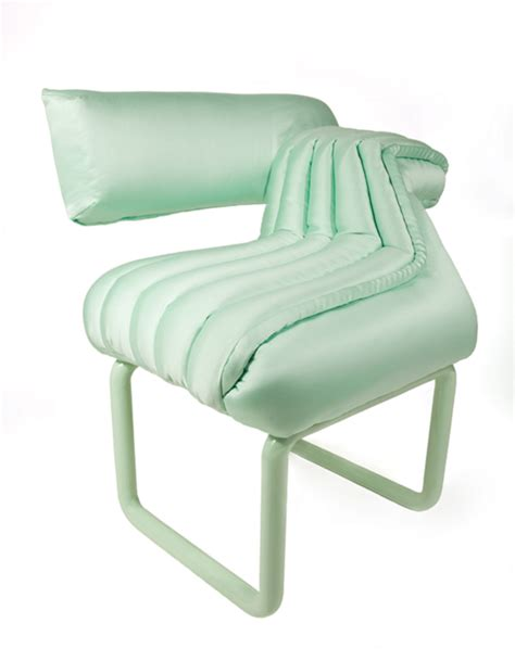 Poofy Chair by Mint Lounger By Carnevale Studio Milan 2012