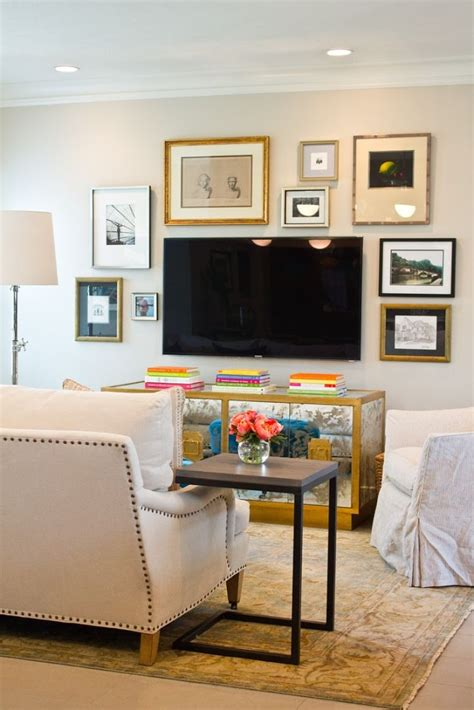 tv wall decor ideas 10 tips for decorating the area around your tv